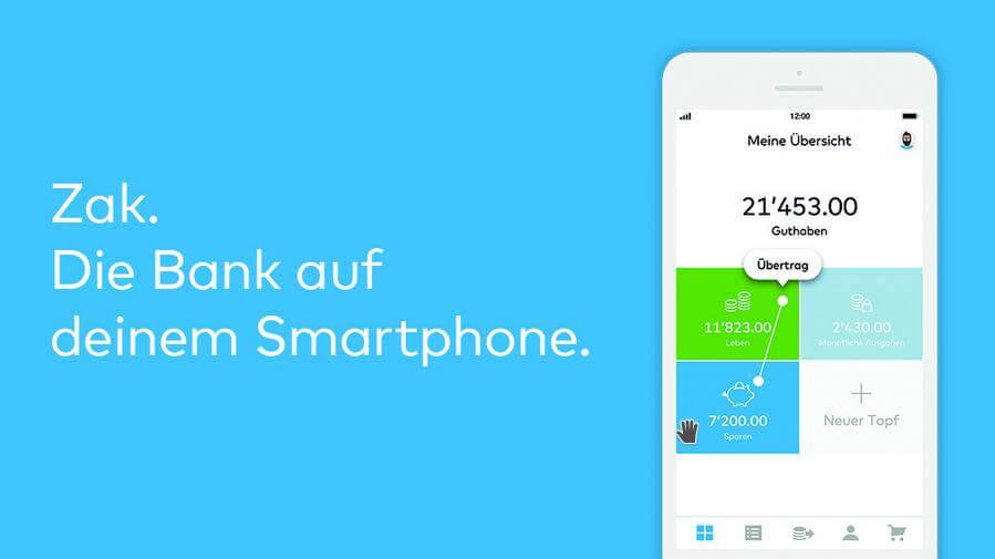 Screenshot des Apps Zak von CLer