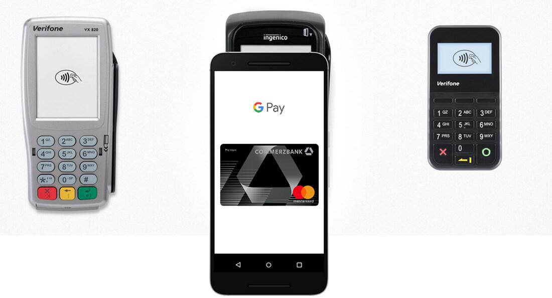 Google Pay Zahlungsmethoden